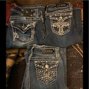 LA IDOL and MISS ME Jeans